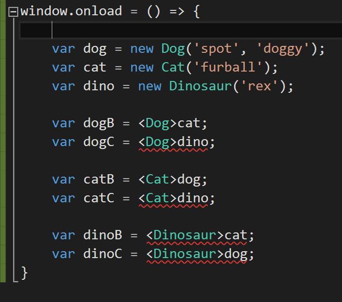 Typescript casting gotchas russ 39 development blog for Window onload not working in ie